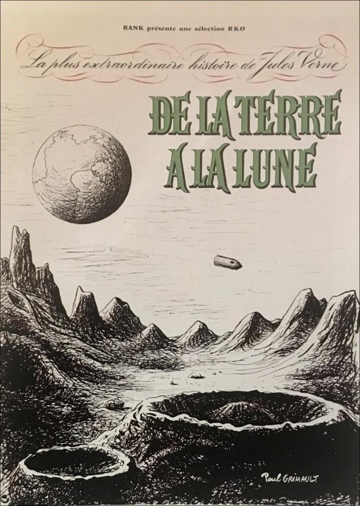 De la terre à la lune Paul Grimault